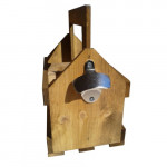 6 pack wooden beer carrier