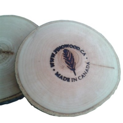 Tree slices coasters