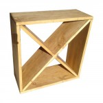 Stackable cube wine racks
