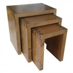 Gigone tables finger jointed