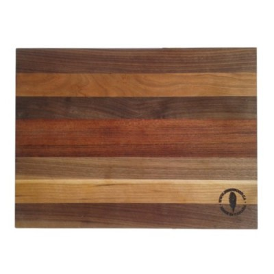 Mixed wood cutting boards with Walnut