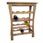 12 bottles capacity wine rack