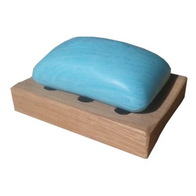 Deluxe  Cedar wooden soap tray