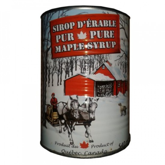 100% Pure Canadian Maple Syrup